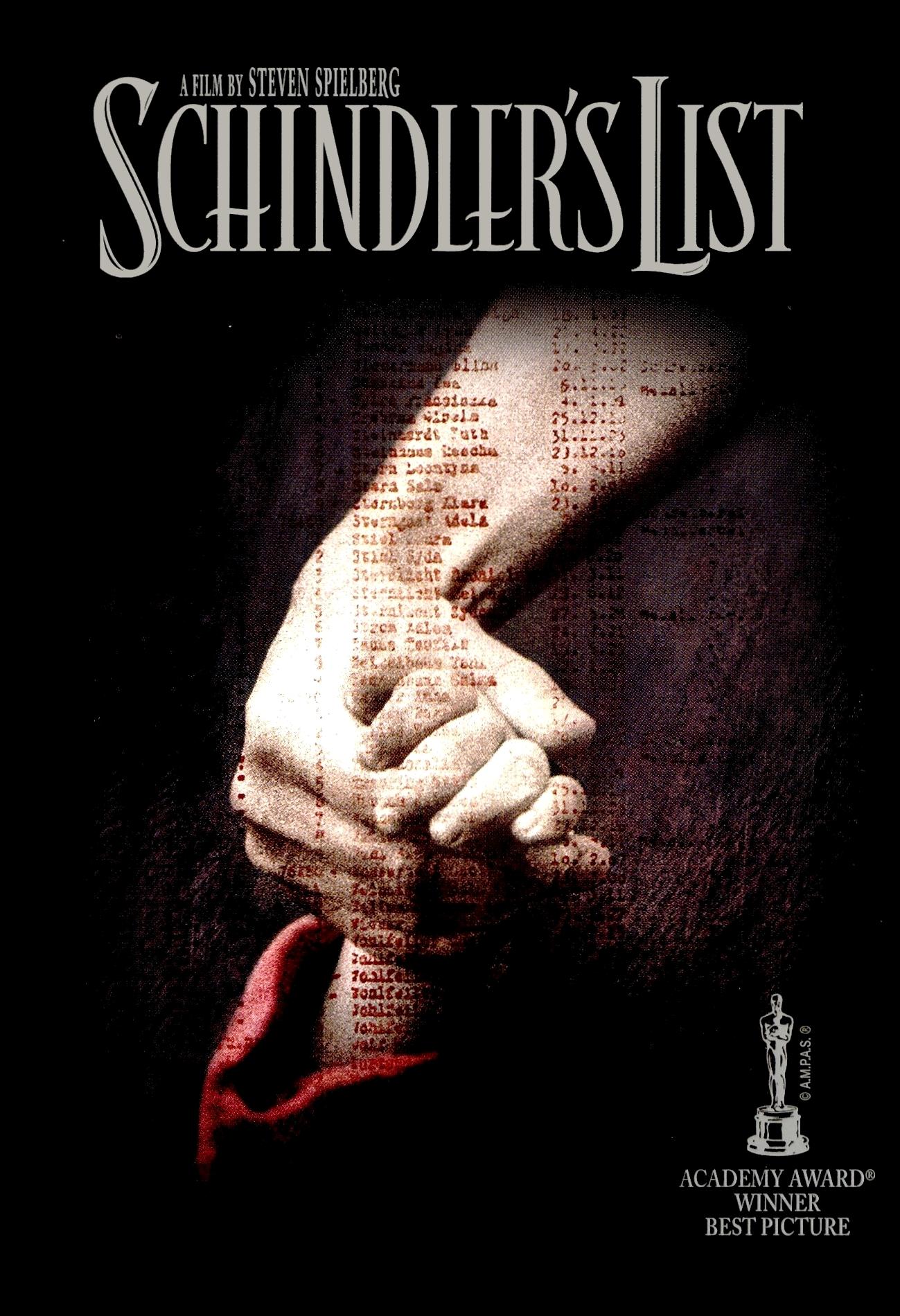 La-lista-de-Schindler-poster