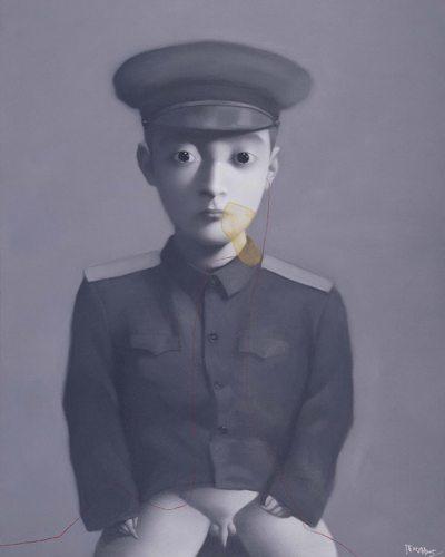 zhang_xiaogang_My-Dream-Little-General-2005-web_