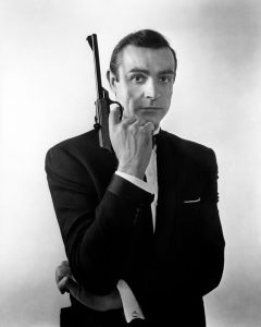 "G.B. England. London. Sean CONNERY, ""From Russia with Love"". Picture used on the original posters.1963."