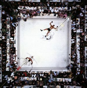 Muhammad Ali vs Cleveland Williams, Houston, Texas, por Neil Leifer,1966 (Image # 1002 )