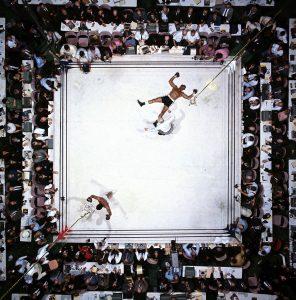 Muhammad Ali vs Cleveland Williams, Houston, Texas, por Neil Leifer,1966 (Image # 1002 )