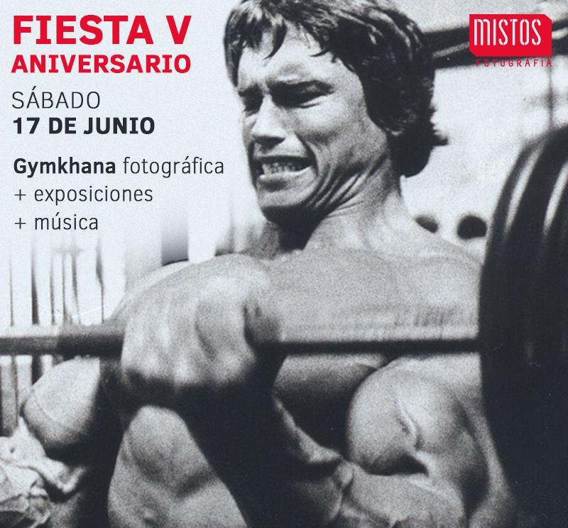 Fiesta V aniversario Mistos Escuela Fotografía Alicante Talleres Cursos