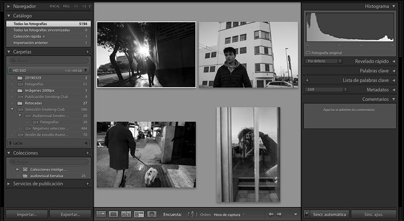 Taller de Lightroom edicion retoque raw Escuela Fotografia Alicante Mistos Talleres Audiovisual