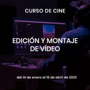 curso de edición y montaje de vídeo